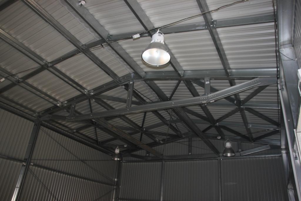 Неутеленный склад 9х42х4,5 м