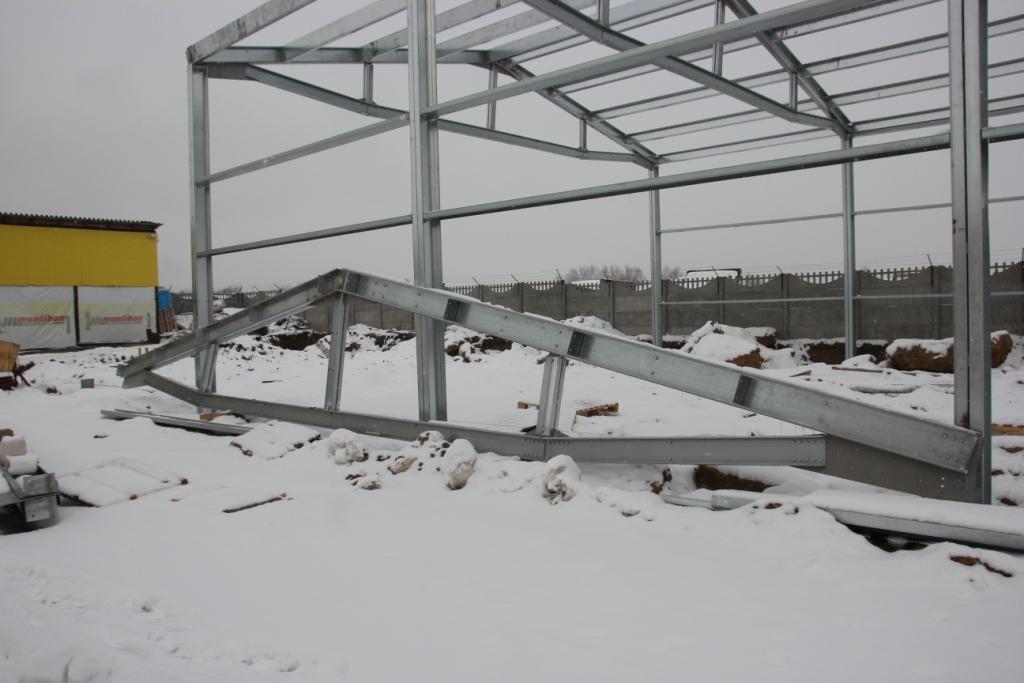 Неутепленный склад 15х90х6 м