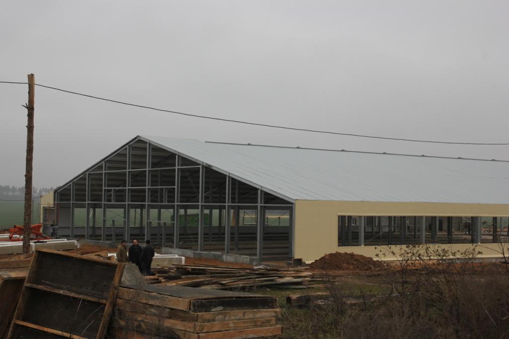Молочно-товарная ферма 45х126х4,2 м