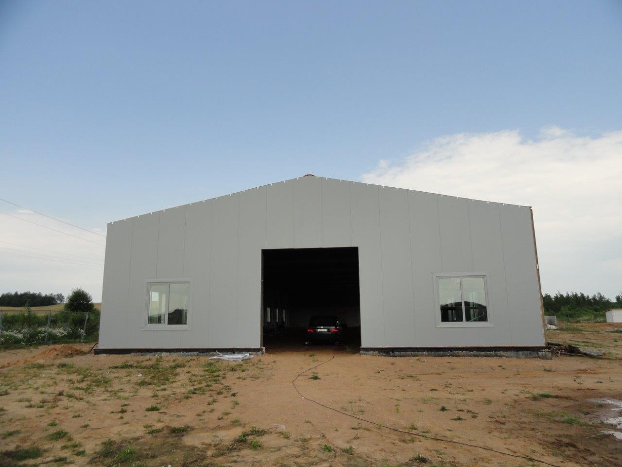 Утепленный склад 18х54х4,8 м - 2 шт.