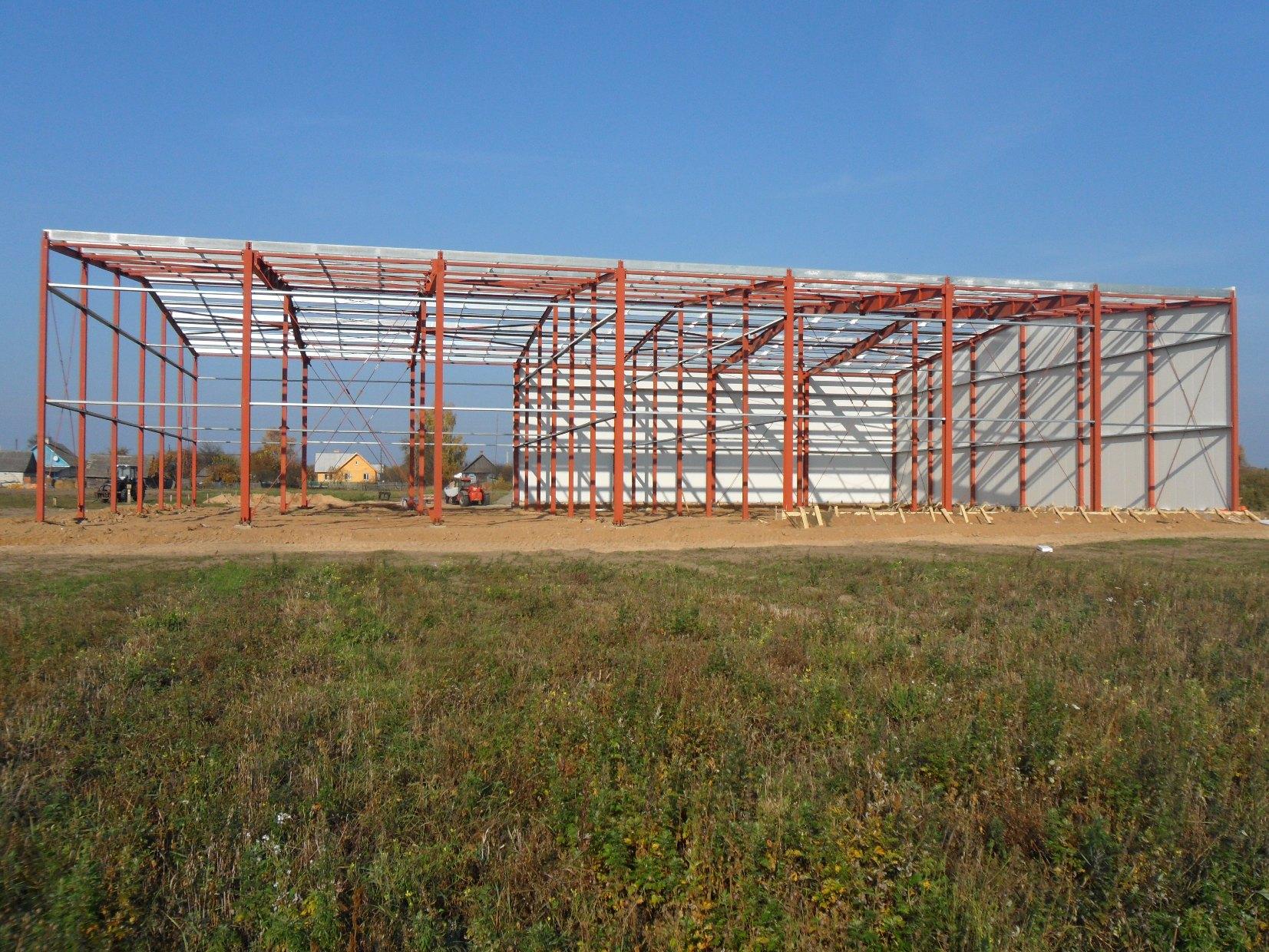 Овощехранилище 30х42х8 м